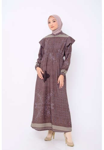 BIA BIA x Revalina S Temat - Rasty Wine Dress - Edisi Yunani 320CAAA845EE0FGS_1