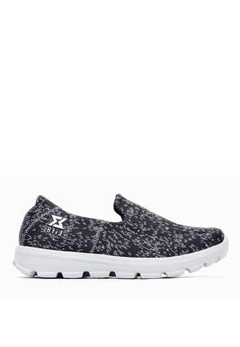 Life8 black Knit Fabric Lightweight Sport Shoes-09702-black LI286SH0SBW7MY_1