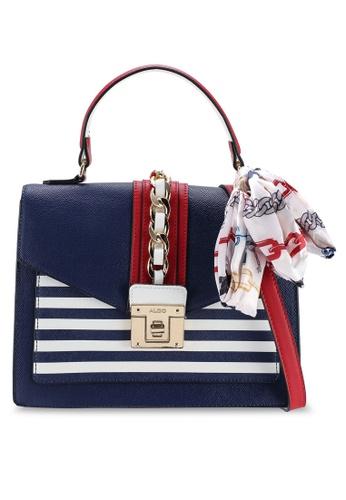 ALDO navy Glendaa Top Handle Bag 7ECD5AC74492A4GS 1. CLICK TO ZOOM 8bcfd149269