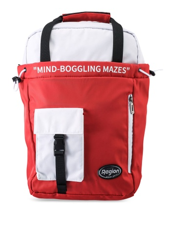 361° red Sports Life Backpack 61E8FACA507D40GS_1