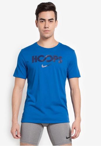 Nike blue AS M Nike Just Hoops Dry Tee NI126AA0SN8BMY_1