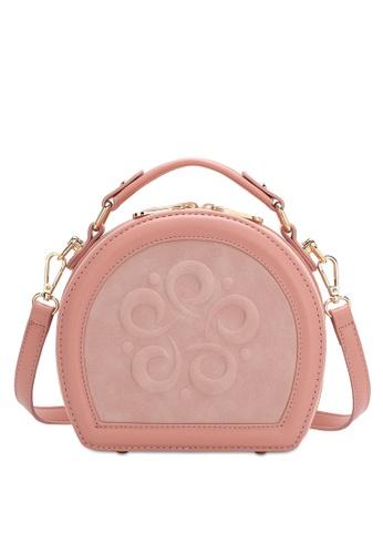 Wild Channel pink Women's Sling Bag / Shoulder Bag / Crossbody Bag 0592CAC15B9723GS_1