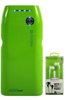 PC235 6000mAh Power Bank with FREE Earphone