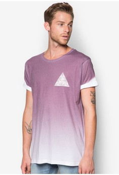 Faded Chest Print T-Shirt