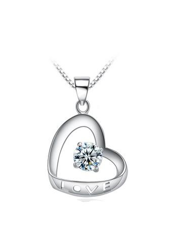 LYCKA silver LPP88175 S925 Silver Necklace F1CFFAC6F5BCE0GS_1