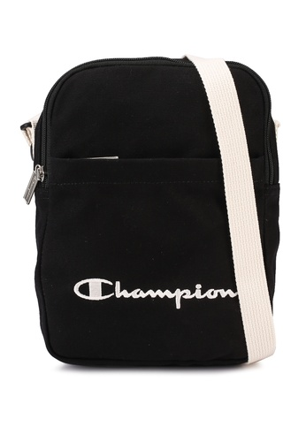 champion black Japan Range Vertical Shoulder Bag 92FB5AC34CD6D7GS_1
