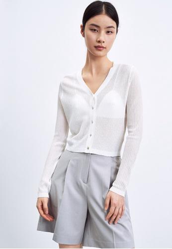 Urban Revivo white Casual Outerwear 1162EAAB6789C5GS_1