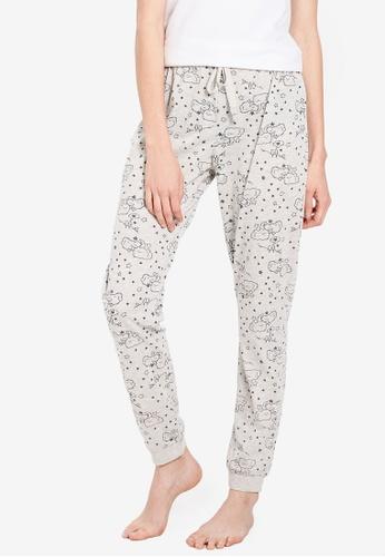 LC Waikiki grey Printed Pyjamas Pants 5928DAAB01D26DGS_1