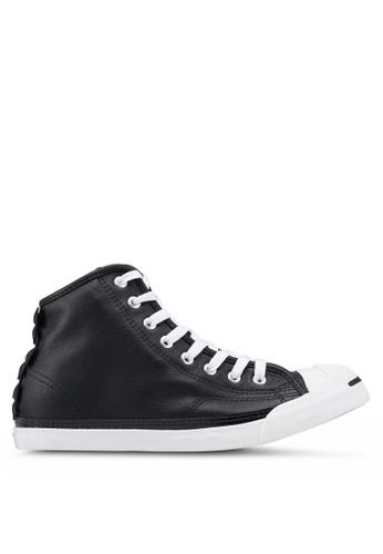 Converse 黑色 皮革運動鞋 009BDSH6CBC7A2GS_1