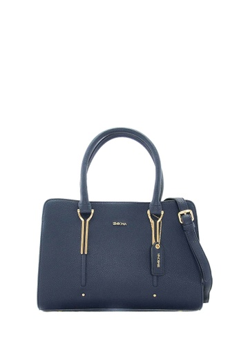 SEMBONIA blue SEMBONIA Synthetic Leather Tote Bag (Blue) 5F8FBACFE889BFGS_1