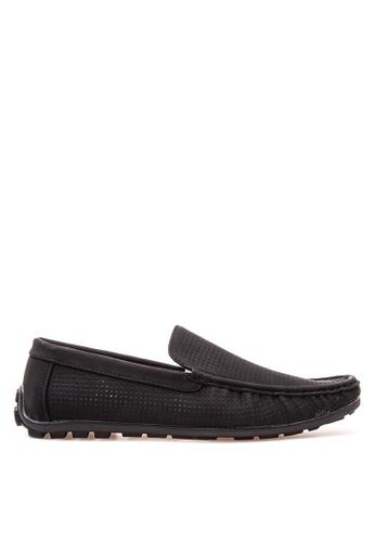 Wade black Smart Casual Loafers WA436SH91JXOPH_1