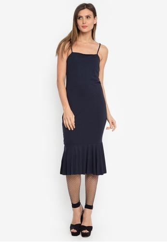 Susto The Label black Robi Fluted Dress BCF9CAA52E7382GS_1
