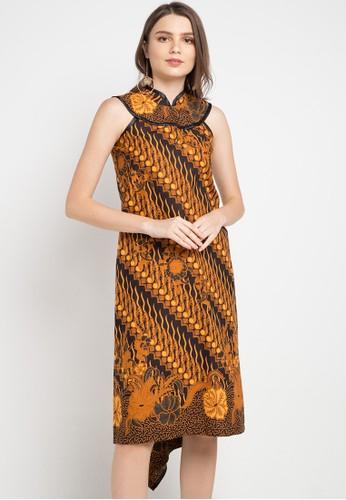 Batik Putra Bengawan multi and brown Dress Kp Olla Prg Sg Pb AEBFBAA4FAA109GS_1