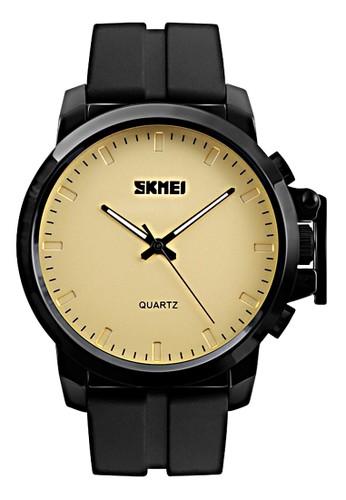 Digitec black and beige Skmei - Jam Tangan Pria - Black - Rubber Strap - 1208-D DI108AC03ATCID_1
