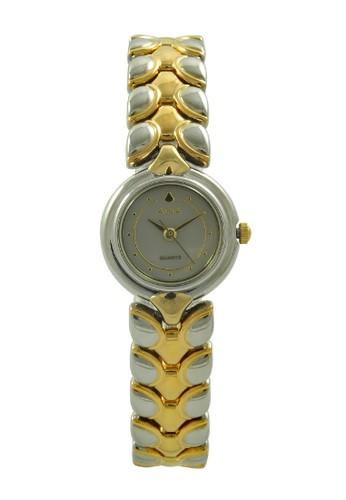 Alba gold and silver ALBA Jam Tangan Wanita - Silver Gold Grey - Stainless Steel - AWK72D AL383AC0UE0SID_1