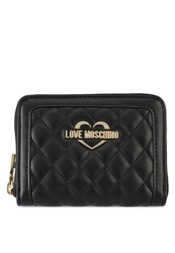 Love Moschino black LOVE MOSCHINO Portafogli Quilted Wallet LO478AC0SXYQMY_1