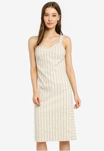 Banana Republic beige Cami Sheath Dress 49322AA8C97F08GS_1