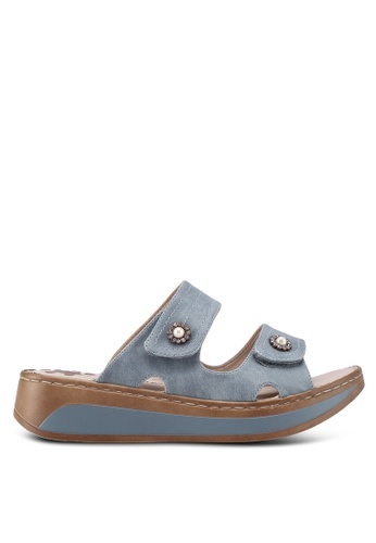 Louis Cuppers blue Casual Sandals C71F9SH55A0498GS_1