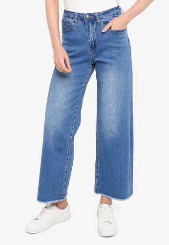 Compania Fantastica blue Wide Leg Jeans 38F3FAA2C6E954GS_1