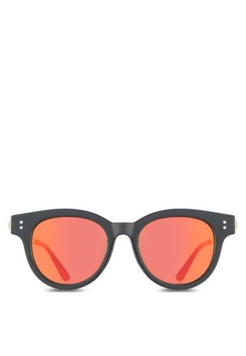 NUVEAU 金屬細鏡腿圓框太陽眼esprit 香港鏡, 飾品配件, 飾品配件