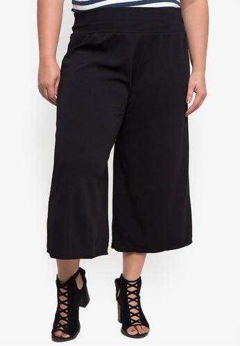Amelia black Plus Size Square Pants AM812AA97HCWPH_1