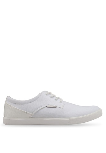 Jack & Jones white Nimbus White Canvas Sneakers D31BESHC78C544GS_1