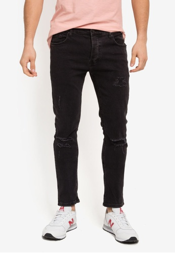 Factorie black The Bandit Jeans FA880AA0SKMFMY_1