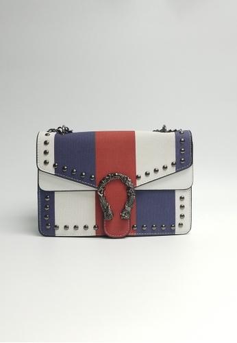 Lara white Women's Fashionable Crossbody Bag FCB05AC785B8D9GS_1