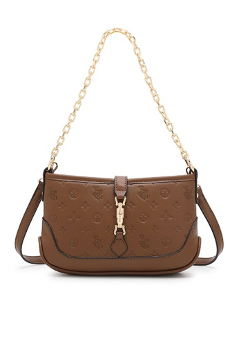 Swiss Polo brown Casual Shoulder Bag 8FF3AACD2ED45EGS_1