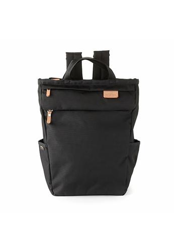 Harvest Label black Harvest Label Lycee Style Backpack - Black BBD05ACC449F15GS_1