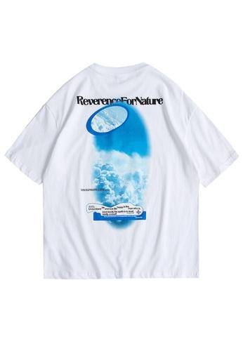 Twenty Eight Shoes Trend Printed Short T-shirt 1630S21 1B6FAAA4123C9AGS_1