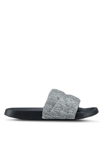 Bata grey Slide On Sandals 2A221SHE6B03A9GS_1