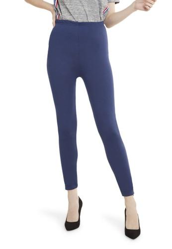Jual Evernoon Celana Legging High Rise Polos Bawahan Wanita Premium Quality Navy Original Zalora Indonesia
