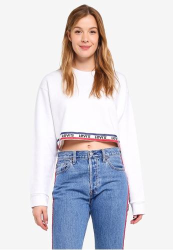 Levi's multi Graphic Cropped Sweatshirt E6BD3AA71161D5GS_1