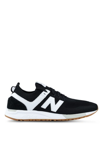 New Balance black and white 247 Deconstructed Lifestyle Sneakers D1912SH695210EGS_1