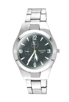 KNUODE Classic Men's Silver Stainless Steel Strap Wrist Watch K951