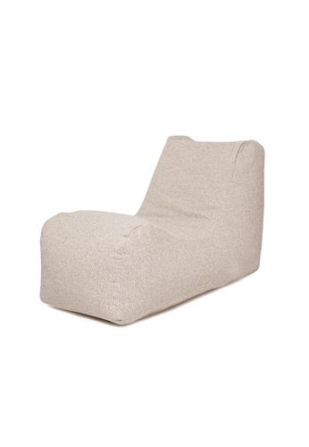 SoftRock beige BOHEMIAN – Linen-Style Upholstery SoftRock Bean Bag Recliner (May) D3A7CHLF96F884GS_1