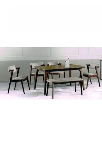 Choice Furniture brown Choice Furniture - Denn Dining Set B0974HL9B5D9EDGS_1