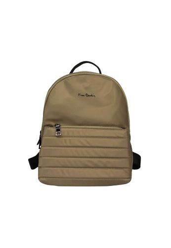 Pierre Cardin green Pierre Cardin Premium Medium Backpack B9D6FACA88F7EAGS_1