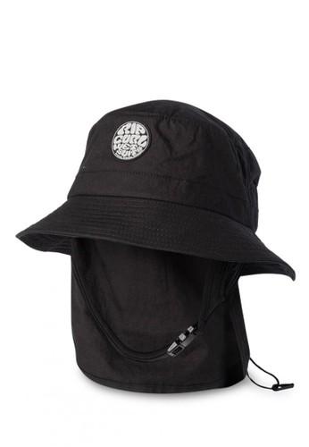 Rip Curl black Wetty Surf Hat B7A1EAC382334DGS_1