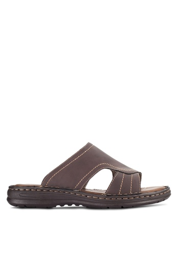 Louis Cuppers brown Casual Sandals LO977SH94VOZMY_1
