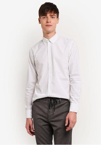 Boss Orange white Epreppy Shirt BO434AA0S35VMY_1