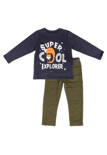 Babybol navy 2 Pieces Kids Set 8341AKA1F467CEGS_1