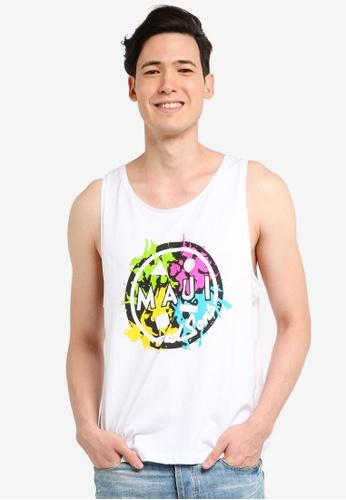 OVS 白色 Men's MAUI T-Shirt BE68FAA7724C33GS_1