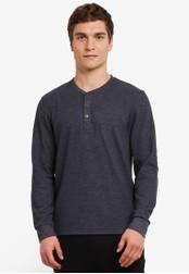 ESPRIT navy Long Sleeve T-Shirt ES374AA0S8V2MY_1