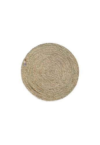HOUZE ecoHOUZE Seagrass Round Rug - 60cm (Small) A604FHL5D1AC34GS_1