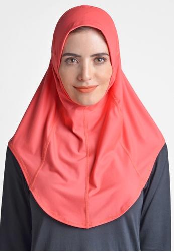 ViQ red ViQ Active Airy Hijab 8E97DAAFCBD34FGS_1