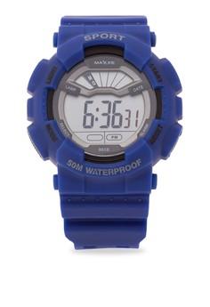 Unisex Rubber Strap Watch MXJ 860B0101