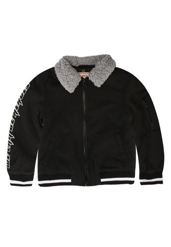 FOX Kids & Baby black Winter Coat 56E65KA7CFEB7AGS_1