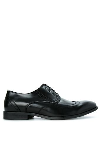 G&G black Men's Formal Shoes GG012SH47VHCPH_1